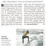 Kleine Zeitung, Donnerstag 4.August